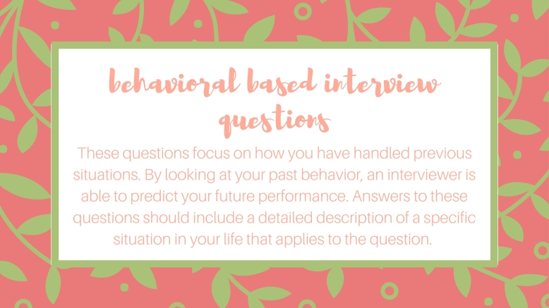 Ace your next interview with the star response method clara kathleen behavioral based interview questions definition jpeg stopboris Choice Image